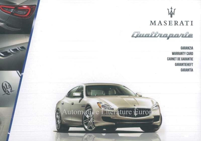 Maserati quattroporte maintenance