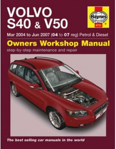 2004 - 2007 VOLVO S40 & V50 HAYNES OWNERS WORKSHOP MANUAL ENGLISH
