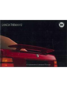 1988 LANCIA THEMA 8.32 BROCHURE ITALIAN