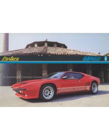 1988 DE TOMASO PANTERA GT5 S BROCHURE