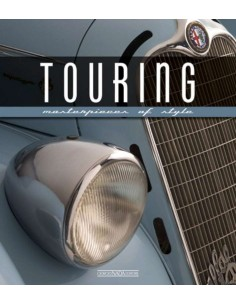 TOURING - MASTERPIECES OF STYLE - LUCIANO GREGGIO BOOK