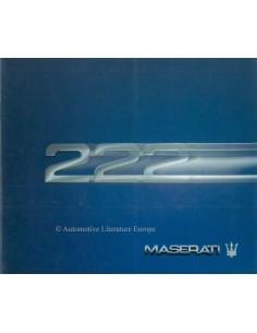1988 MASERATI 222 PROSPEKT ITALANISCH