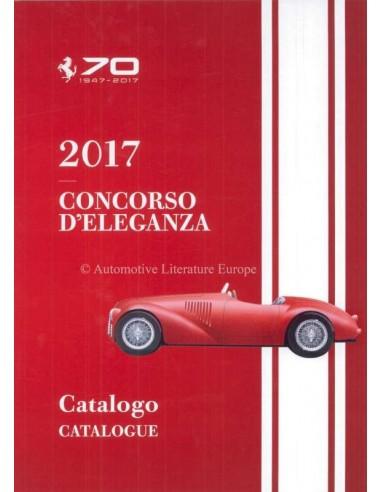 2017 FERRARI CONCORSO D'ELEGANZA CATALOGUE ITALIAN ENGLISH