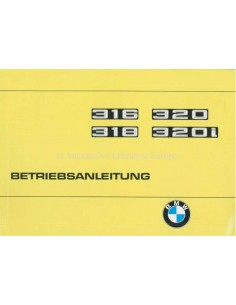 1977 BMW 3 SERIES OWNERS MANUAL GERMAN