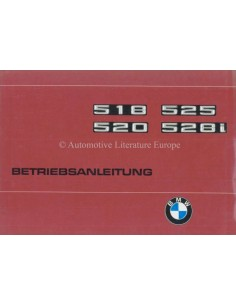 1977 BMW 5 SERIES OWNERS MANUAL GERMAN