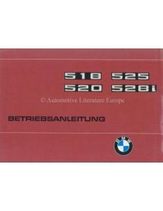 1977 BMW 5ER BETRIEBSANLEITUNG DEUTSCH