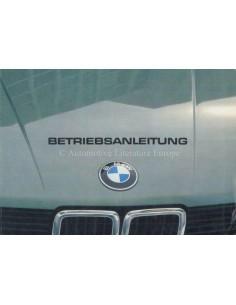 1982 BMW 5ER BETRIEBSANLEITUNG DEUTSCH