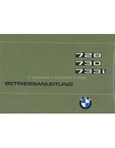1977 BMW 7ER BETRIEBSANLEITUNG DEUTSCH