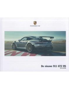 2010 PORSCHE 911 GT2 RS HARDCOVER PROSPEKT NIEDERLÄNDISCH