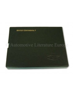 2000 BENTLEY CONTINENTAL T INSTRUCTIEBOEKJE DUITS