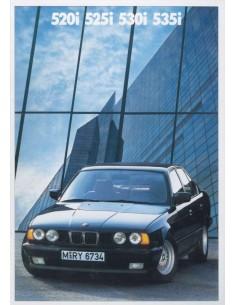 1988 BMW 5 SERIES BROCHURE DUTCH