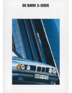1990 BMW 5 SERIES BROCHURE DUTCH