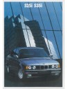 1989 BMW 5 SERIES BROCHURE ENGLISH