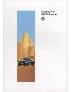 1996 BMW 5 SERIES  BROCHURE DUTCH
