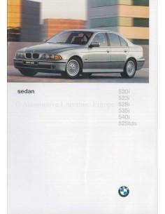 1996 BMW 5ER LIMOUSINE PROSPEKT NIEDERLÄNDISCH