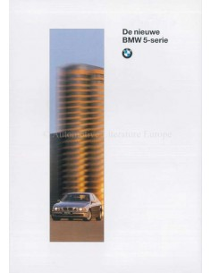 1995 BMW 5 SERIES BROCHURE DUTCH