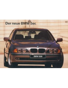 1995 BMW 5 SERIES BROCHURE GERMAN