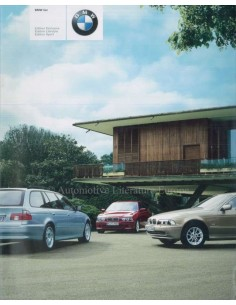 2001 BMW 5 SERIES BROCHURE GERMAN