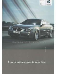 2003 BMW 5ER PROSPEKT ENGLISCH
