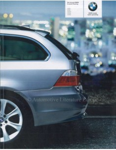 2005 BMW 5 SERIES TOURING BROCHURE DUTCH