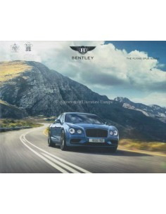 2016 BENTLEY FLYING SPUR HARDCOVER PROSPEKT ENGLISCH