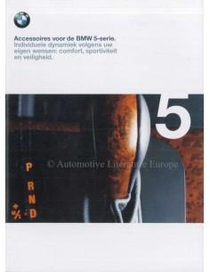 1998 BMW 5ER ZUBEHÖR PROSPEKT NIEDERLÄNDISCH