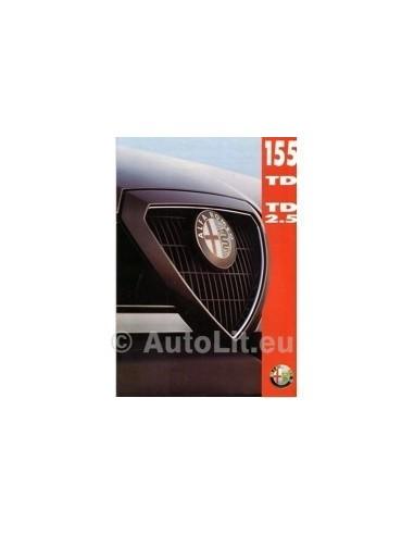 1993 ALFA ROMEO 155 TD BROCHURE NEDERLANDS