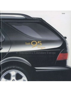 1999 SAAB 9-5 WAGON BROCHURE ENGLISH (USA)