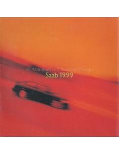 1999 SAAB PROGRAMM PROSPEKT ENGLISCH (USA)