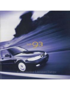 1999 SAAB 9-3 BROCHURE ENGLISH (USA)
