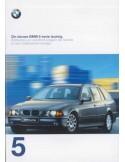 1997 BMW 5 SERIES TOURING BROCHURE DUTCH