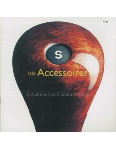 1999 SAAB ACCESSORIES BROCHURE DUTCH