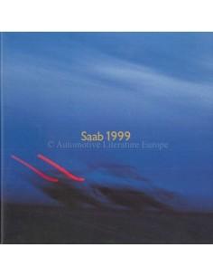 1999 SAAB PROGRAMM PROSPEKT NIEDERLÄNDISCH