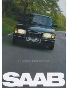 1982 SAAB 900 BROCHURE NEDERLANDS