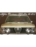 1978 ALFA ROMEO ALFETTA 1.6 & 1.8 L BROCHURE NEDERLANDS