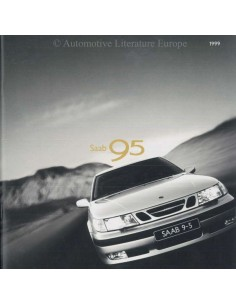 1999 SAAB 9-5 BROCHURE DUTCH