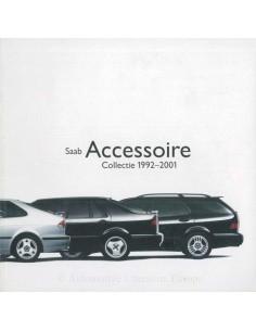 1992-2001 SAAB ACCESSORIES BROCHURE DUTCH