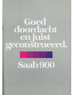 1980 SAAB 900 PROSPEKT NIEDERLÄNDISCH