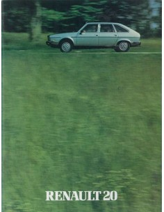 1980 RENAULT 20 BROCHURE DUTCH
