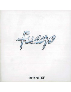 1980 RENAULT FUEGO BROCHURE DUTCH