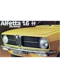 1975 ALFA ROMEO ALFETTA 1.6 BROCHURE DUTCH