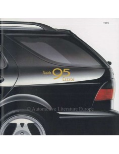 1999 SAAB 9-5 ESTATE BROCHURE DUTCH
