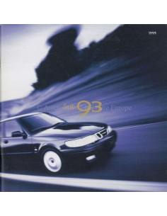 1999 SAAB 9-3 S SE BROCHURE NIEDERLÄNDISCH