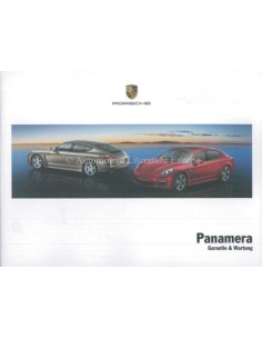 2011 PORSCHE PANAMERA WARRANTY & MAINTENANCE GERMAN