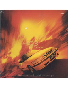 1999 SAAB 9-3 CABRIOLET BROCHURE NEDERLANDS