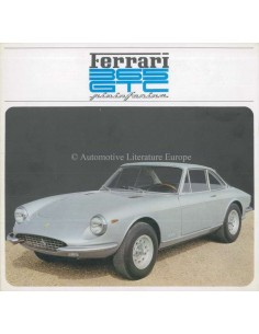 1968 FERRARI 365 GTC PININFARINA PROSPEKT 28/68