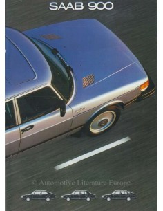 1981 SAAB 900 BROCHURE DUTCH