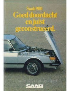 1983 SAAB 900 BROCHURE DUTCH