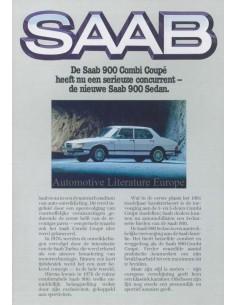1981 SAAB 900 PROGRAMM PROSPEKT NIEDERLÄNDISCH