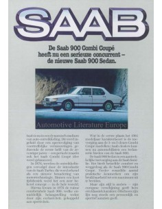 1981 SAAB 900 RANGE BROCHURE DUTCH